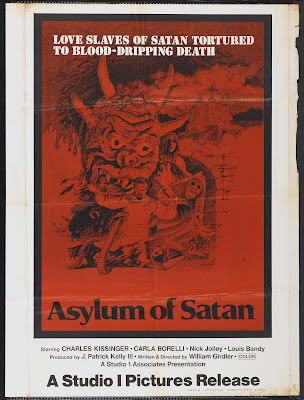 Asylum of Satan (1975, USA) movie poster
