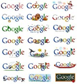 Google Comemorative Logos