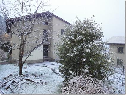 es schneit im geisterquartier