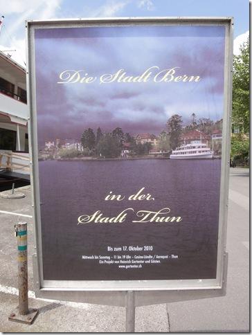 Die Stadt Bern - Das Plakat