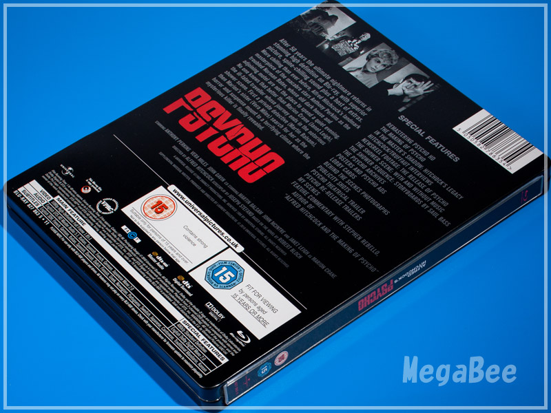 Psycho ii Blu Ray Psycho uk Steelbook Blu Ray