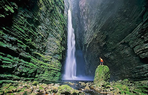 Imaxe do Parque Nacional da Chapada Diamantina