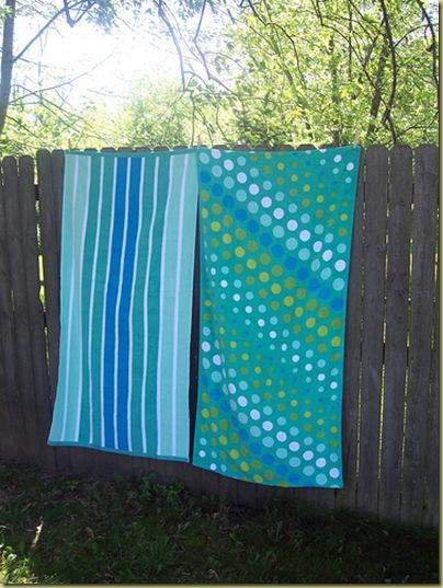 giveaway towels