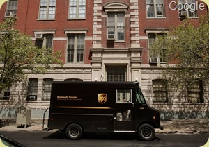 ups truck