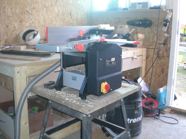 My new planer/thicknesser