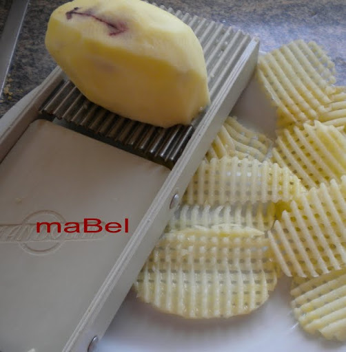 Patatas fritas rejilla papas rejilla por la cocina de ile for Mandolina utensilio de cocina