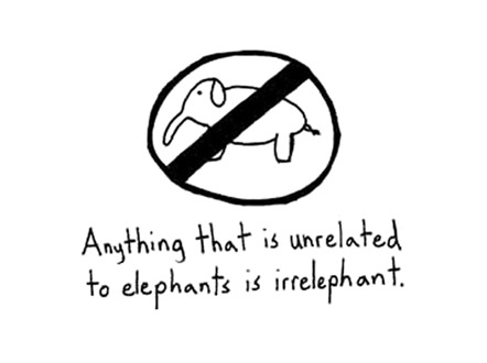 argumentics irrelephant