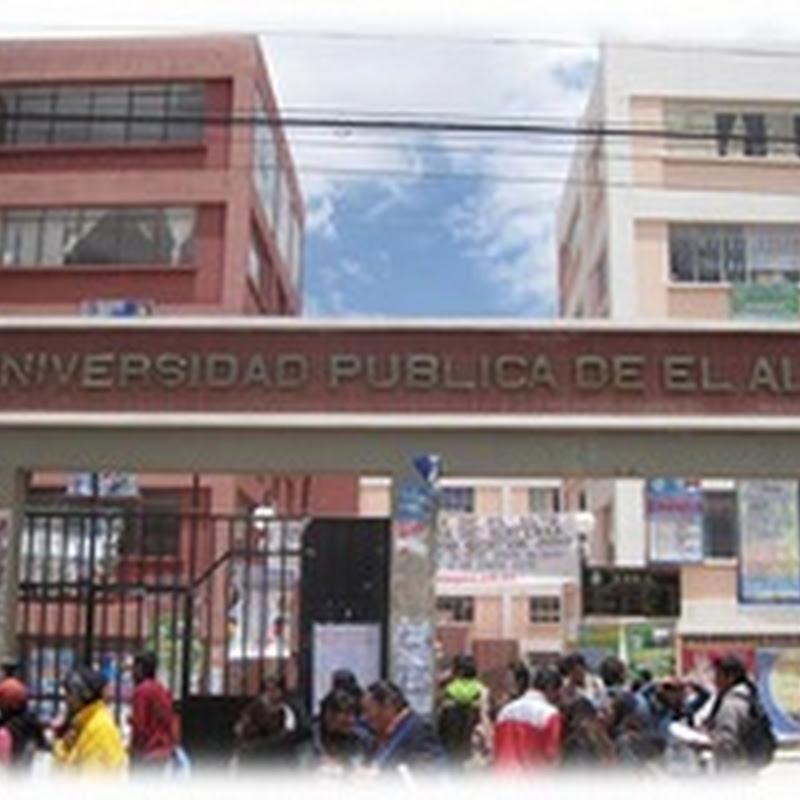Fundación de la UPEA