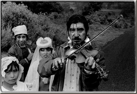 The sad violiniste Mexico 1979