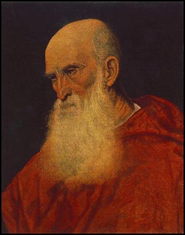 Tiziano Vecellio, Ritratto di Pietro Bembo
