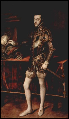 Tiziano Retrato de felipe II por Tiziano (Real Armería de Madrid)