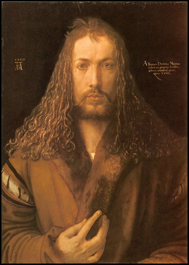 Durero autorretrato 1500
