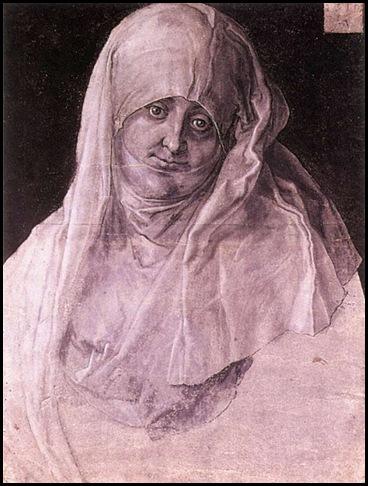 Durero Retrato de Agnes como Santa Ana 1519