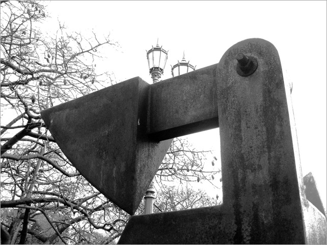 Bastón Díaz - Paseo de las esculturas - Plaza Rubén Darío (10)