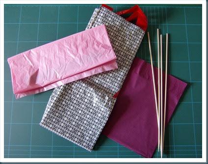Cande cosas como decorar una fiesta reutilizando bolsas - Bolsas para decorar ...