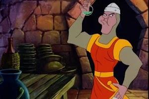 Screenshot of Dragon's Lair