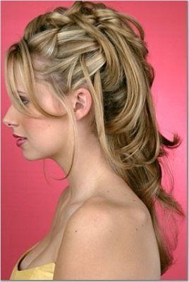 penteados para noivas com cabelo longo