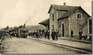 Estação de S. João da Madeira 1904