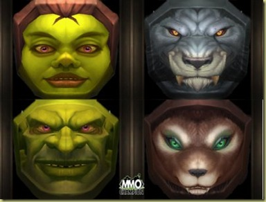 Pretty, aren't they?  (I modified the image to make the faces thinner and more consistant with the current proportions of goblin faces)