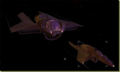 I never got as far as replacing my starter ship - still, it was fun blowing Z-95s and TIEs out of the ether.
