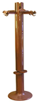 Planta coat rack, brown