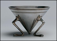 Christy bowl, silverplate
