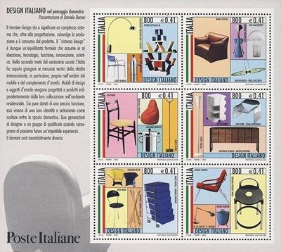 Italian design stamps