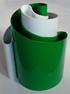 Deda vase green/white