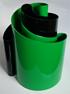 Deda vase green/black