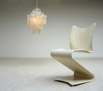 panton chair verner panton vitra switzerland 1967 object
