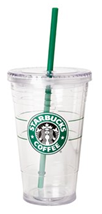 Grande Starbucks to-go cold cup