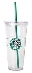Venti Starbucks to-go cold cup