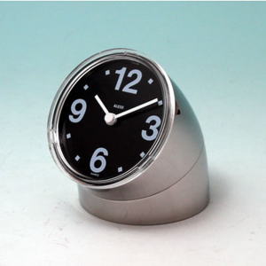 Alessi reissue of Cronotime clock, chrome