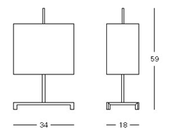 Elvis table lamp, schematic