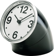 Cronotime clock, black