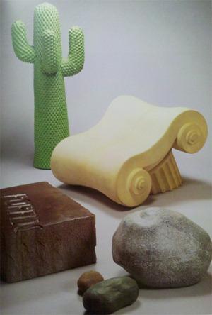 Gufram from L'Utopie Du Tout Plastique 1960 – 1973