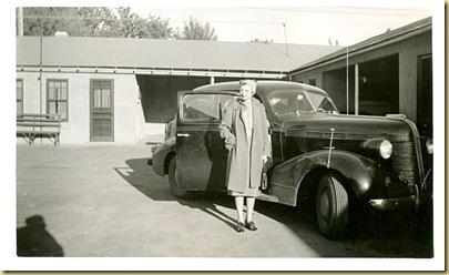 1939 - 5-29 - Trip West - Cabin at Longmont, Colorado