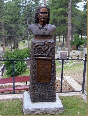 2004-07-24 -3- SD, Deadwood Cemetery - Wild Bill Hickok and Calamity Jane's Gravesites