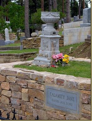 2004-07-24 -3- SD, Deadwood Cemetery - Wild Bill Hickok and Calamity Jane's Gravesites (2)