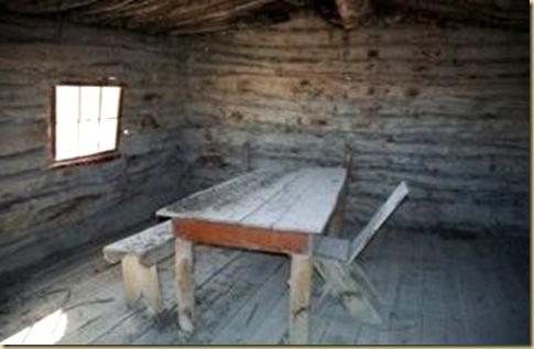 Wolfe Cabin inside