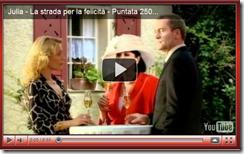 """Julia - La strada per la felicità"": puntata n°250"