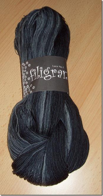 2011_02 Zitron Filigran Lace in schwarz- meliert