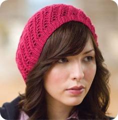 Berretto a maglia schema gratuito - free pattern