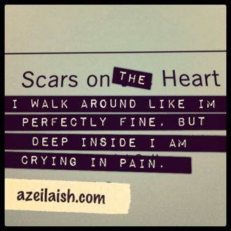 scars on the heart