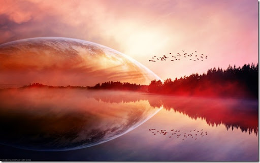 surreal wallpaper. Tagged: surreal sunrise sunset
