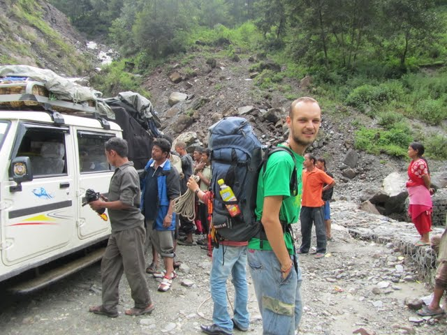 Traveling Nepal - our first encounter