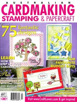 Cardmaking Stamping & Papercraft Vol 15 No 12 Cover