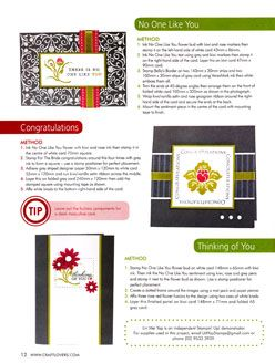 Cardmaking Stamping & Papercraft Vol 15 No 12 Mod Chic By Lin Mei Yap Pg 12