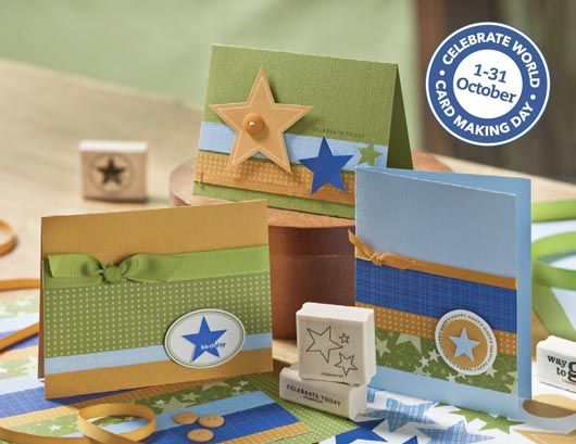 Stampin' Up! Australia World Card Making Day Promotion