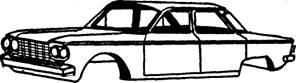 A car body
